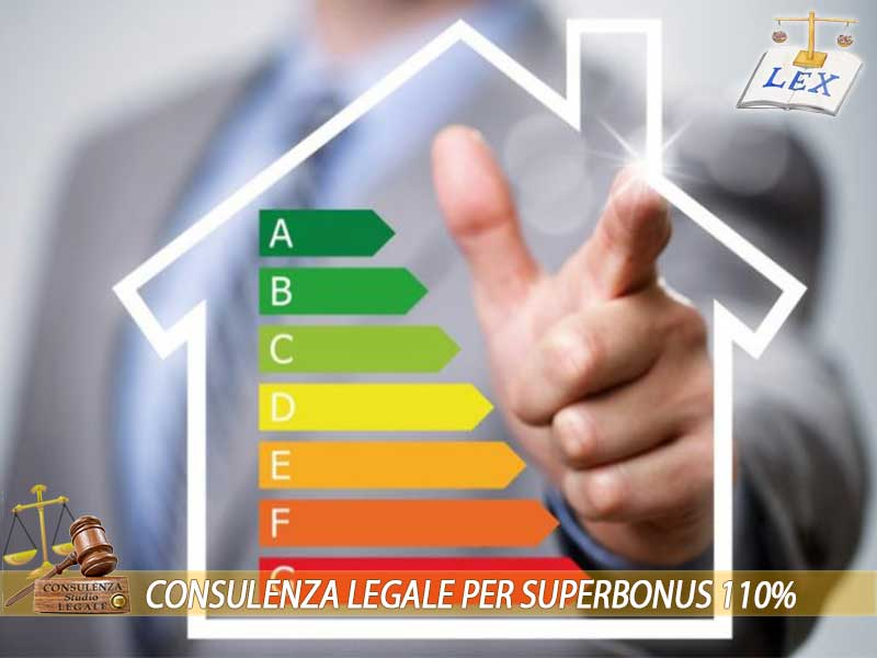 Consulenza Legale per Superbonus 110% Ecobonus Sismabonus Avvocato esperto a Torino Milano Chivasso Ivrea Biella